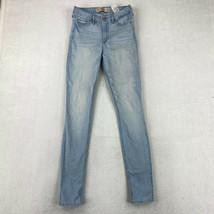 Hollister Jeans Juniors Size 1 Blue Super Skinny High Rise Pants - $18.95