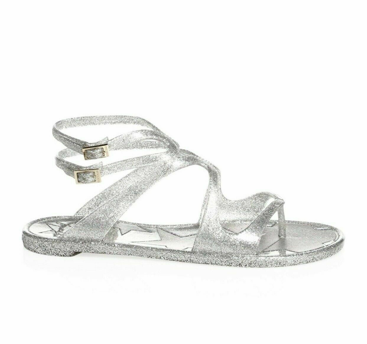 Jimmy Choo Lance Jelly Gladiator Sandals Size: 39 MSRP: $350.00