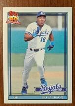 Bo Jackson Kansas City Royals 1991 Topps #600 - Fast Shipping - $1.97