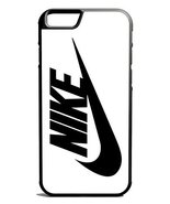 Just Do It Nike Logo Black And White iPhone 6 Case Black [Wireless Phone... - $9.89