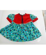 Vintage Corduroy Dress for Large Wide Waist Doll, Saucy Walker etc. - $32.99