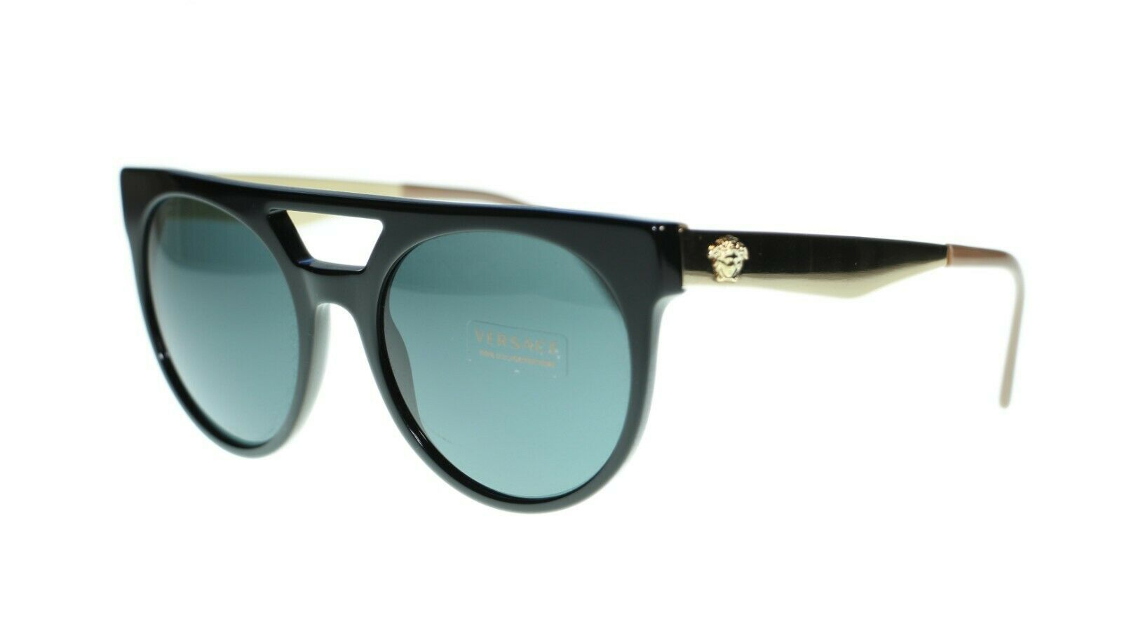 Versace Men's Round Sunglasses VE4339 Authentic 55mm