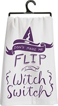 Primitives by Kathy Witch Switch Tea Towel 25526 - $12.63