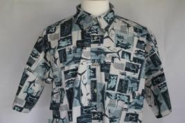 Columbia Men's Short Sleeve Cotton Button Front Shirt size XL - $19.79