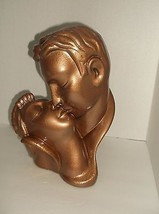 The Kiss Lovers Kissing Couple Alexander Backer ABCO Made in USA Hand Pa... - $39.60