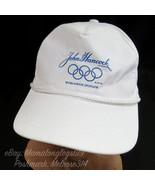 Vintage Olympics John Hancock Worldwide Sponsor Snapback Hat Cap Rings Y... - $25.07