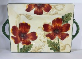 "Rare Maxcera ""Poppy Garden"" Hand-Painted Ceramic Collection - $14.85+"