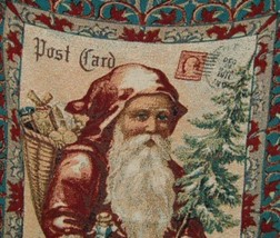 Woodworkers Weavers Paula Scaletta Postcards to Santa Tapestry Throw image 2