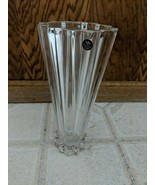 """Crystal Vase Rosenthal Classic 10"""" Mid- Century Modern Germany Signed 24... - $27.69"""