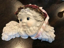 Vintage Dreamsicles: Watching Over You - DC176 - Wall Haning Cherub - $9.00