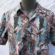 Cooke Street for Liberty House Hawaiian Aloha Shirt Size XL Reverse Print - $24.29