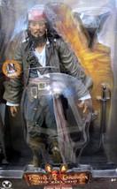 """Disney Store CAPTAIN JACK SPARROW 14"""" TALKING Figure Dead Man's Chest (2... - $111.38"""