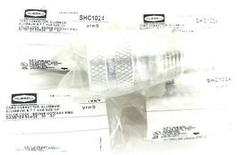 LOT OF 5 NEW HUBBELL SHC1024 CORD CONNECTORS, ALUMINUM N.P.T. HUB SIZE: 1/2''