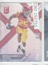 2018 Panini Elite Draft Ronald Jones II RC USC Trojans  #113 192755 - $1.86