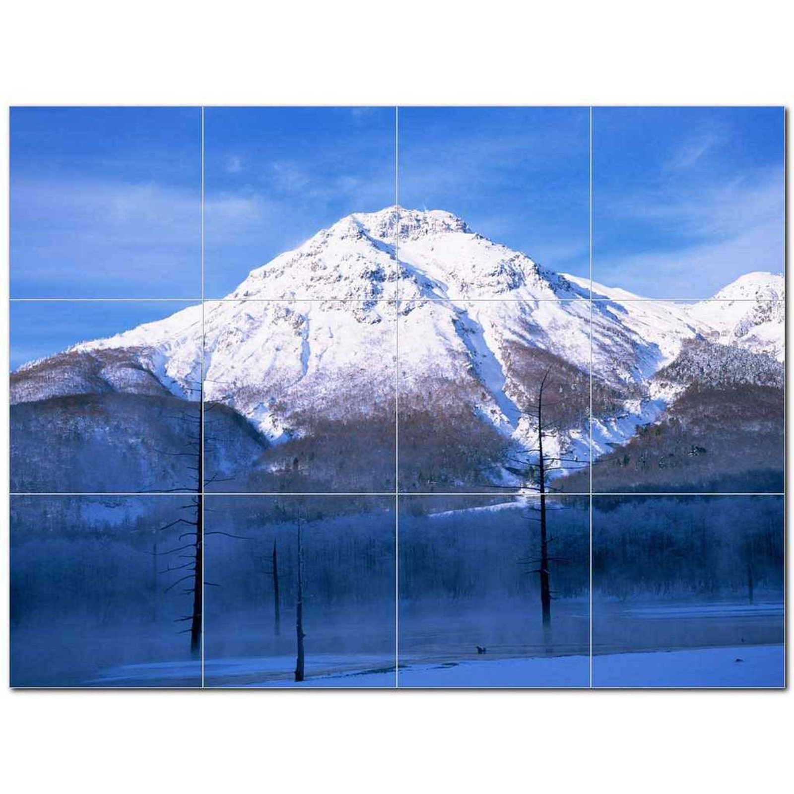 Primary image for Winter Photo Ceramic Tile Mural Kitchen Backsplash Bathroom Shower BAZ406399