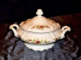 Bavarian German China Set of Johann Haviland (No 18 Tureen Bowl AB 55-G Vintage image 1