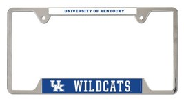 Kentucky Wildcats Heavy Duty Chrome Metal License Plate Frame - $13.95