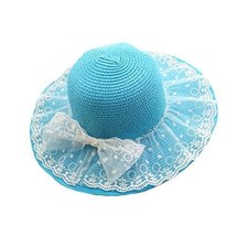 Folding Sun Hat Girls Summer Sunscreen Large Brimmed Hat Child Children
