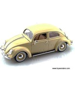 BBurago Gold - Volkswagen Kafer Beetle Hard Top (1955, 1/18 scale diecas... - $57.68
