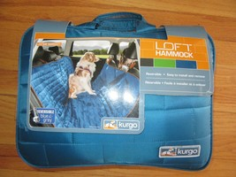 9M/NEW/KURGO DOG HAMMOCK/CAR/WATERPROOF SEAT COVER/BLUE & GREY! - $59.35