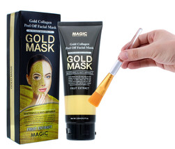 New Gold Collagen Facial Face Mask High Moisture Anti Aging Remove Wrink... - $7.91+