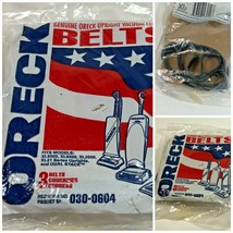 New 3 pack Oreck Vacuum cleaner Belts #030-0604 for upright & Dual stacks - $5.93