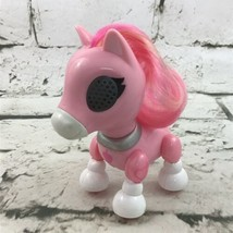 Zummer Zups Pink Unicorn Interactive Toy Lights Up With Sounds Spin Master Ltd - $14.84