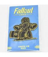 Fallout Crate #18 LootCrate Black & Gold Rad Perk Pin - $14.84