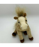 Ty Beanie Buddies Filly the Horse Beige with Gold Sparkle 2003 - $5.89