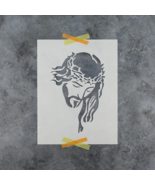 Jesus Stencil - Reusable Stencils of Jesus Christ in Small & Large Sizes - $5.99+