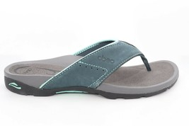 Abeo Balboa Slides Sandals  Navy  Size US 9.5 Neutral Footbed (  )6234 - $110.00
