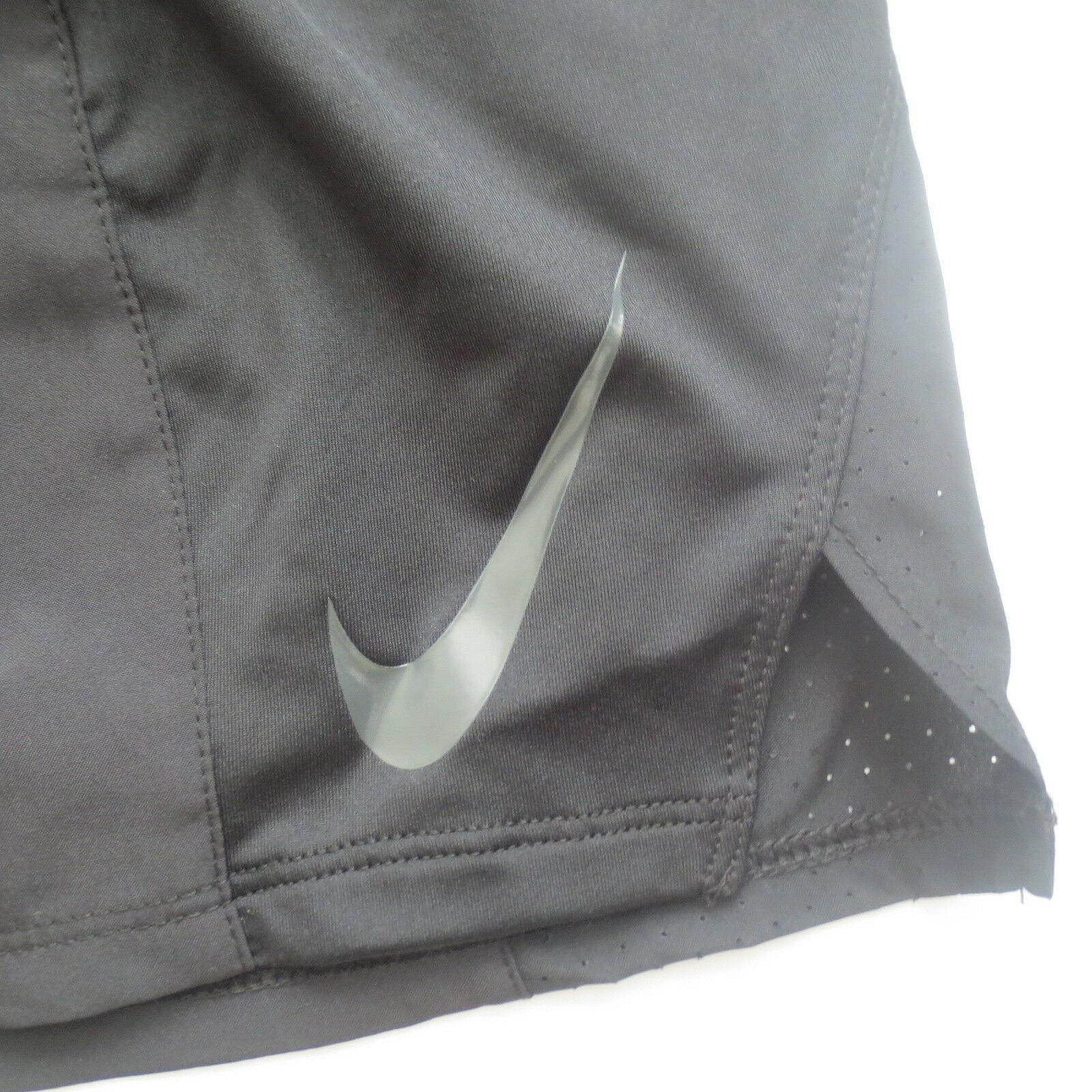 Nike Women Dry Running Shorts - 902281 - Black 010 - Size L -  NWT image 2