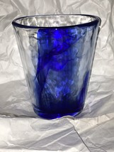9 oz Flat Tumbler in Murano Blue by Bormioli Rocco 1 - $7.87