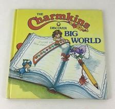 Charmkins Discover Big World Book Hardcover Vintage 1984 Hasbro Listen N... - $13.32