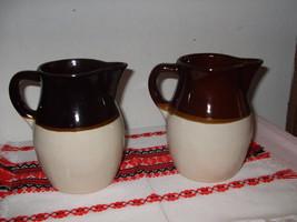 Roseville/R.R.P. Pottery Co. Pitchers - $25.00