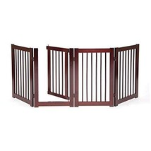 Dog Gate For The House Freestanding Puppy Small Animal With Walk Through... - $141.99