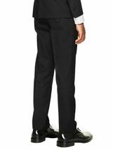 Boys Kids Juniors Slim Fit Flat Front Dress Pants Slacks Trousers w/ Defect 8 image 2