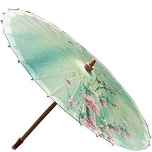 [Spring Breeze] Rainproof Handmade Chinese Oil Paper Umbrella 33 inches