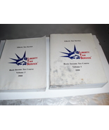 lot  of  2  liberty  tax  books  - $6.99