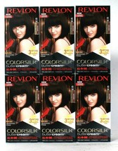 6 Revlon 40 30N Dark Brown Vivid Ammonia Free Hair Color Colorsilk Butte... - $47.99
