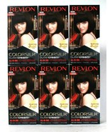 6 Revlon 40 30N Dark Brown Vivid Ammonia Free Hair Color Colorsilk Butte... - $47.99
