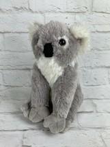 "Wild Republic Gray White KOALA Bear stuffed Animal Plush soft 12"" Toy Au... - $13.96"