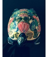 VTG Hand painted Wooden Multicolor Turtle Figure - €22,28 EUR