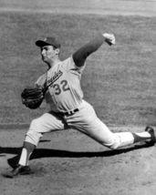Sandy Koufax Los Angeles Dodgers 1963 Series 16X20 BW Baseball Memorabil... - $30.95