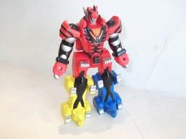 "Japan Version ✰ Bandai Power Rangers Jungle Fury Megazord Figure Toy 6.5"" 2005 - $25.00"
