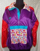 Columbia Sportswear Co Youth 18 - 20 Jacket Windbreaker Vtg Multi Color ... - $33.61