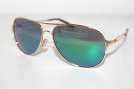 Oakley Caveat Sunglasses OO4054-15 Polished Gold Frame W/ Jade Iridium L... - $69.97