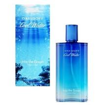Davidoff Cool Water Into The Ocean Men Eau de Toilette Spray, 4.2 Ounce - $42.30