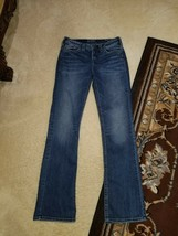 Pre-Owned SILVER Jeans Womens Jeans Size 28/33 | Suki High Slim Boot Jeans - $18.20