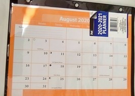 Black and Orange 2020-2021 Planner - FREE SHIPPING - $6.94